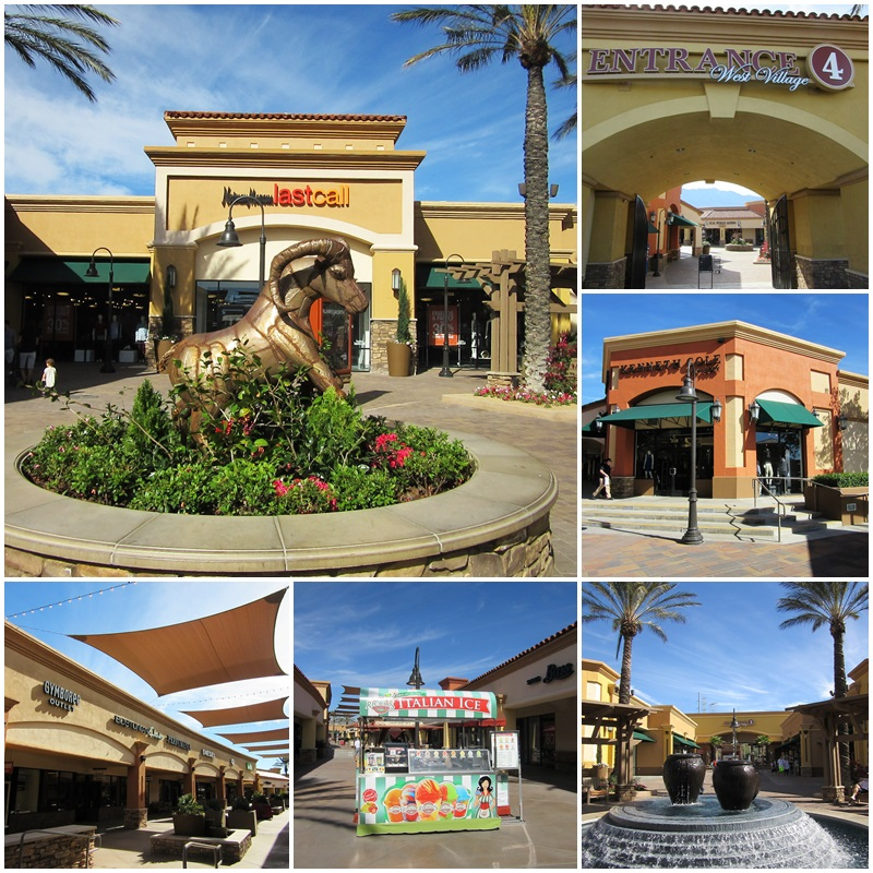 The Desert Hills Premium Outlet in Cabazon, California