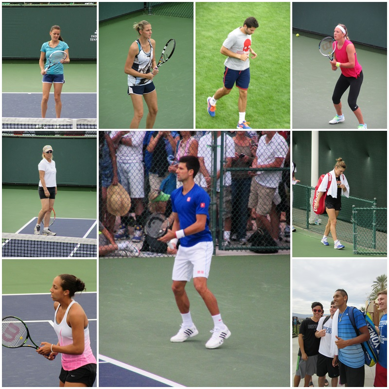 World-class tennis at the BNP Parisbas Open