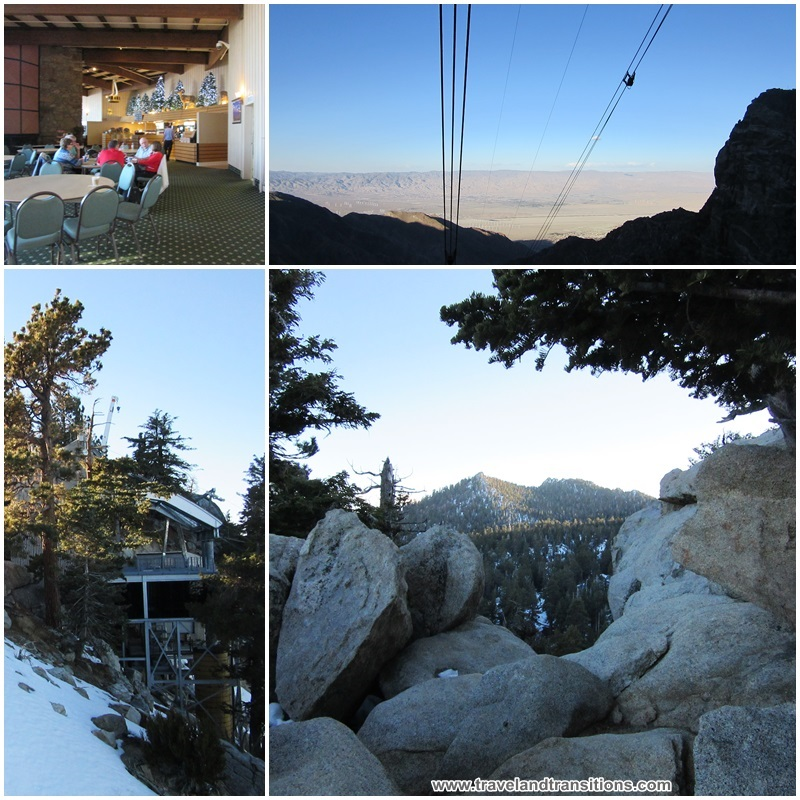 Magnificent views from the top of the Palm Springs Aerial Tramway