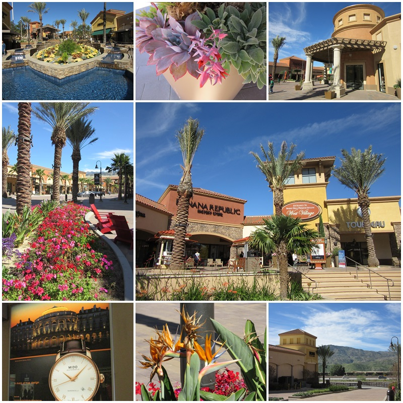 180 different stores are located at the Desert Hills Premium Outlets