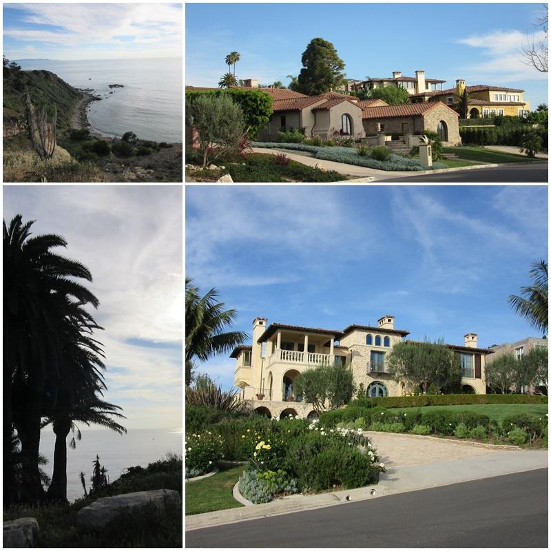The Palos Verdes Peninsula - an affluent neighbourhood