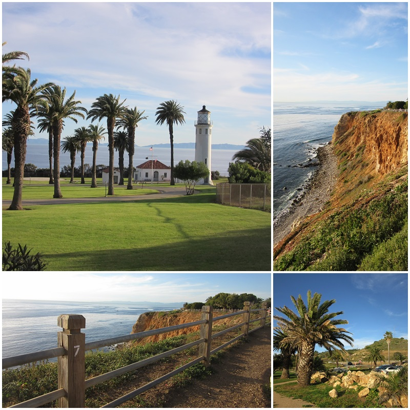 The Point Vicente Lighthouse