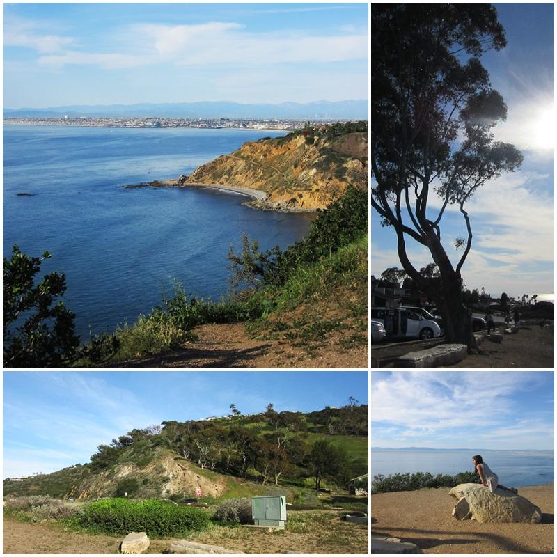 Amazing views of Santa Monica Bay from the Palos Verdes Peninsula