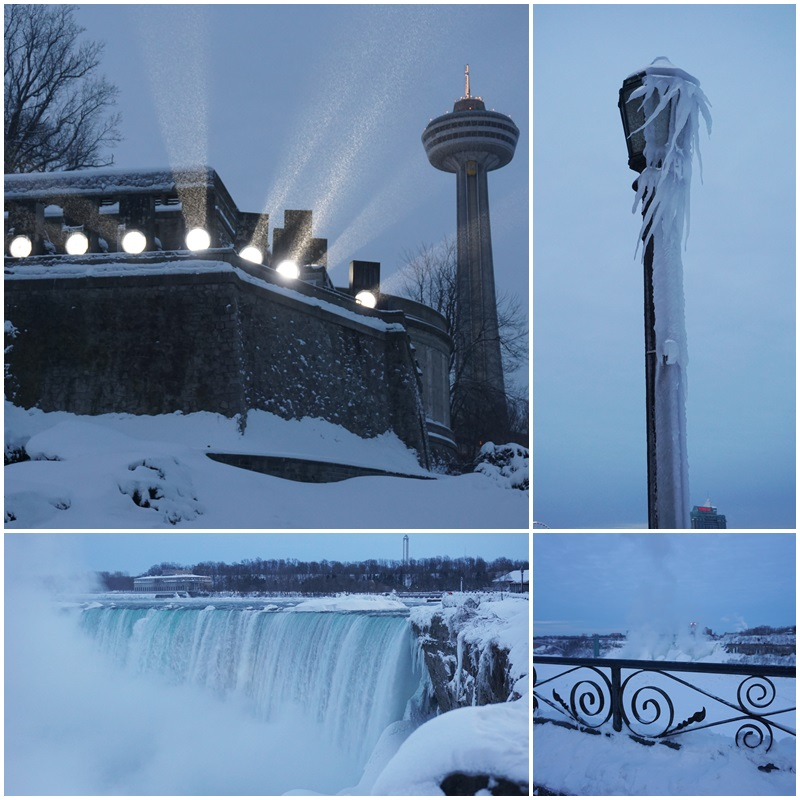 The Horseshoe Falls have a special appeal in the winter
