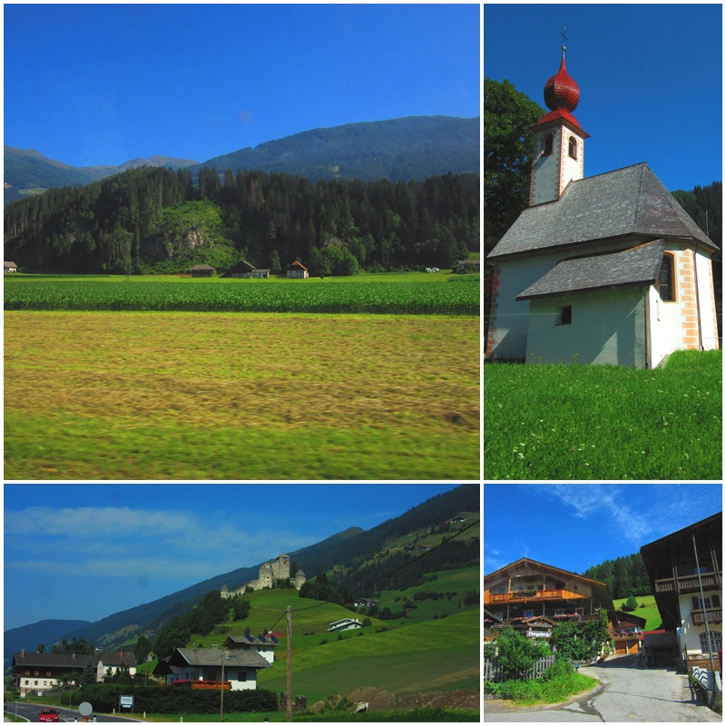 A scenic drive through East Tyrol