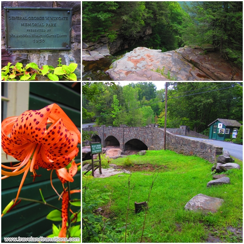 A walking tour of Haines Falls, New York