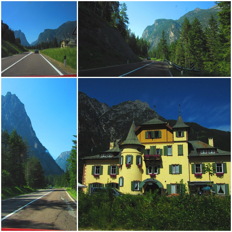 Landscapes near San Candido / Innichen in the Dolomites