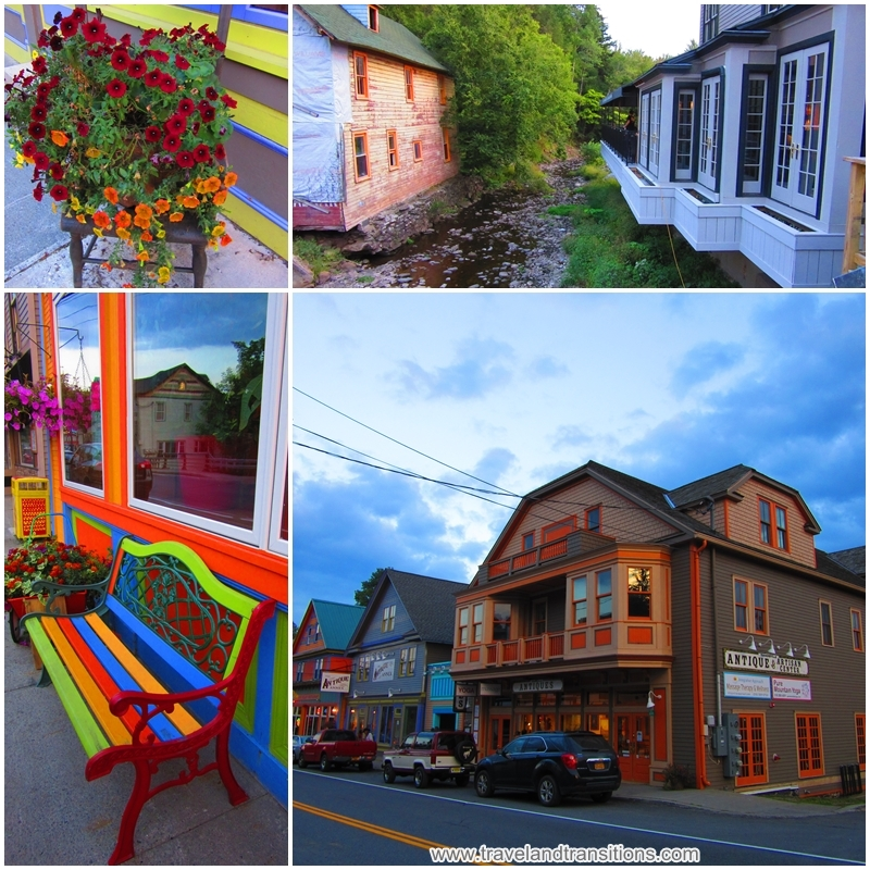 Tannersville is a pleasant tourist town in the Catskills