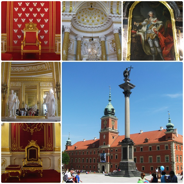 Warsaw's Royal Palace was completely rebuilt