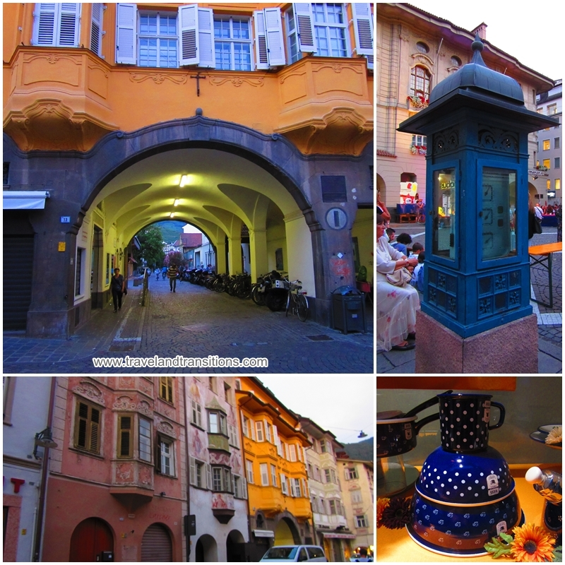 Bolzano is full of picturesque nooks and crannies