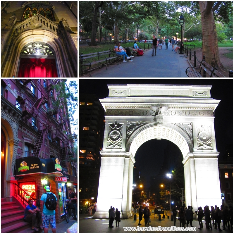 Washington Square Park - a real hub of activity