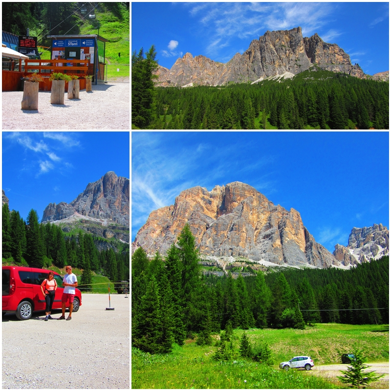 Breathtaking scenery in the Dolomites