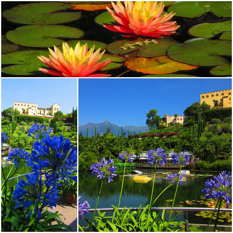 Trautmannsdorf Castle features some of Italy's most beautiful gardens