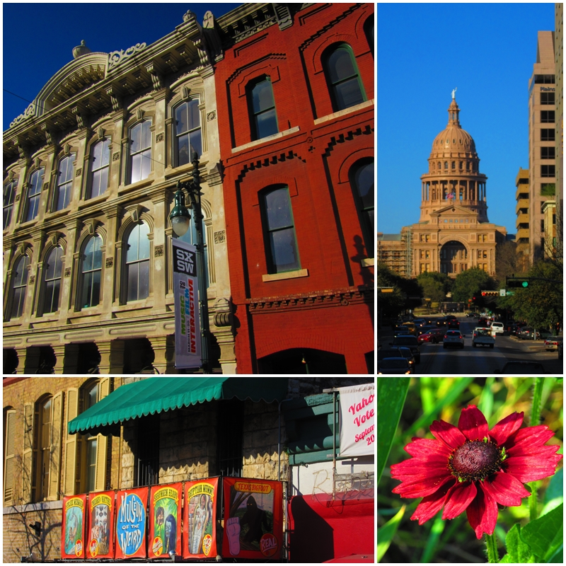 Austin and some of its historic buildings