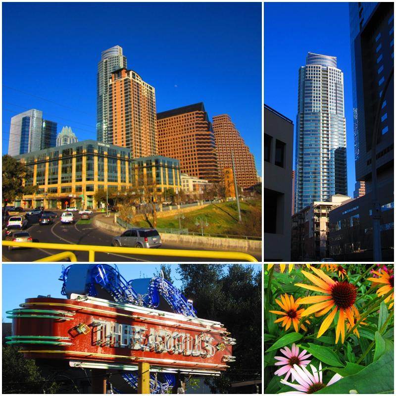 Austin's impressive modern skyline