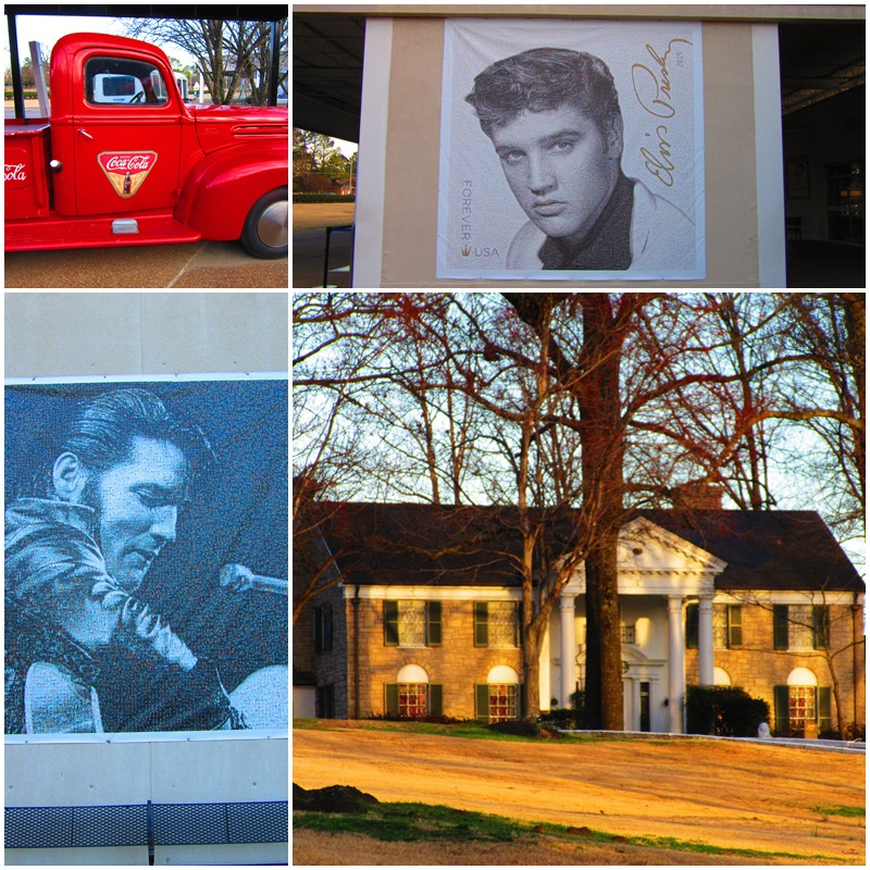 Graceland, a shrine to Elvis Presley