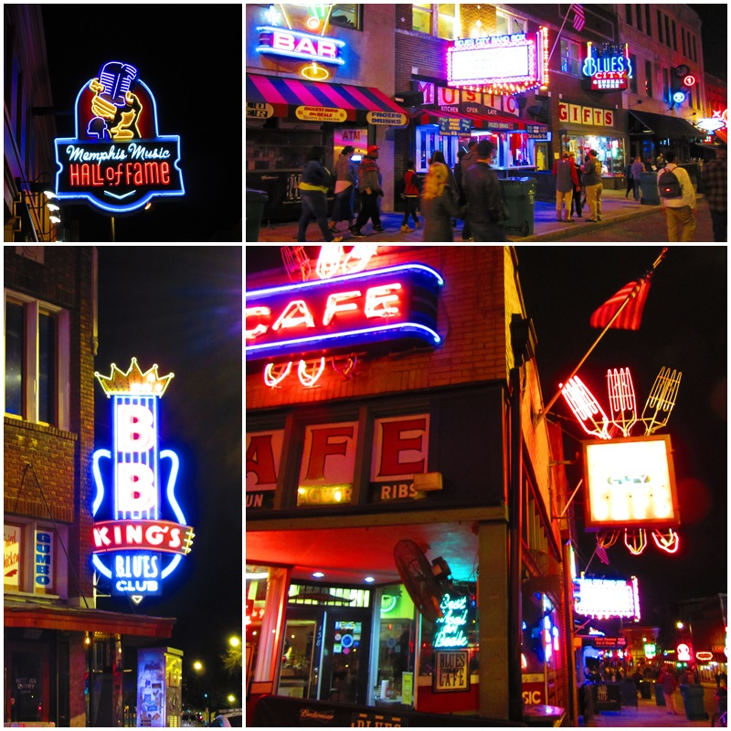 Beale Street - a must-see destination for Blues fans