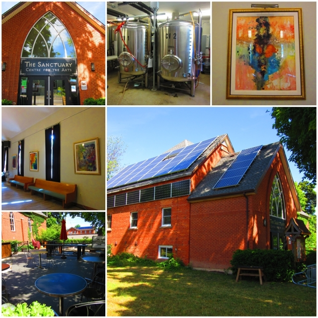 The Sanctuary Centre for the Arts in Fort Erie's Ridgeway Community