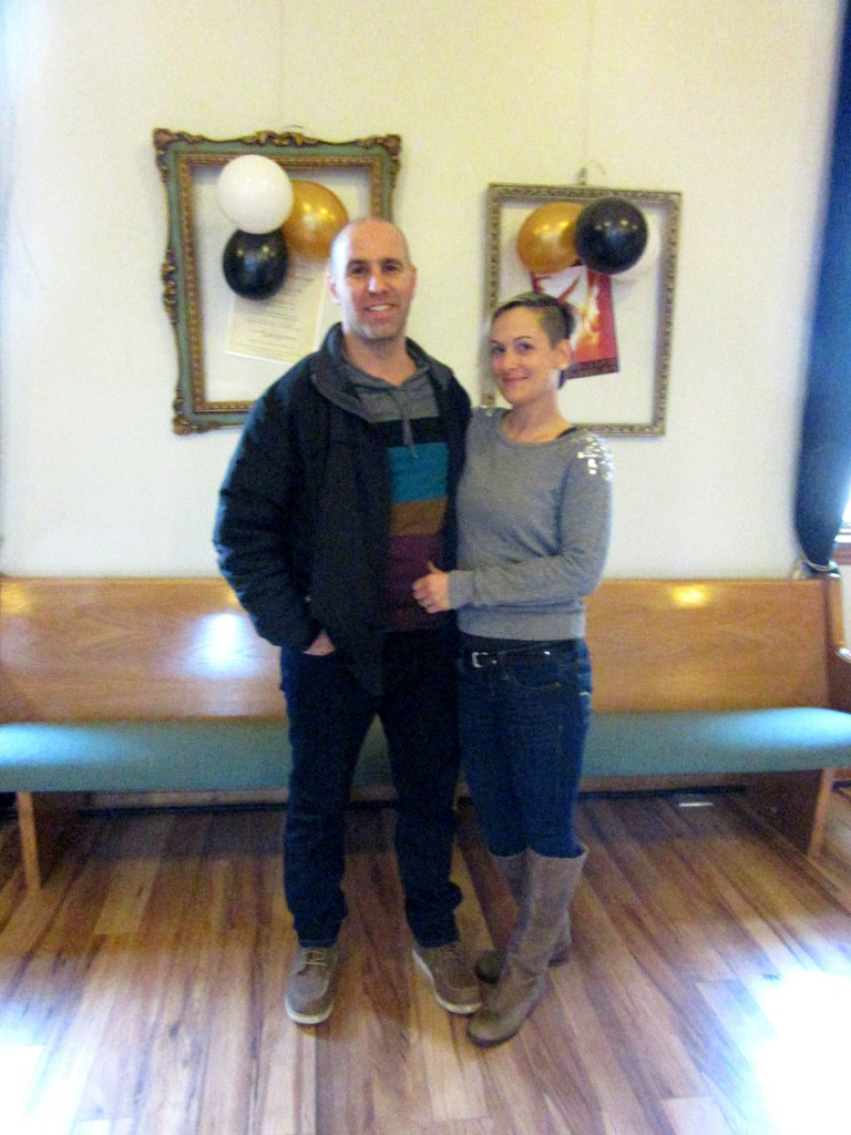 Jason Pizzicarola and his wife Nadine